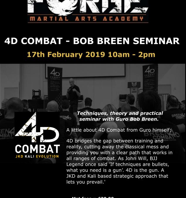 4D Combat Seminar with Bob Breen